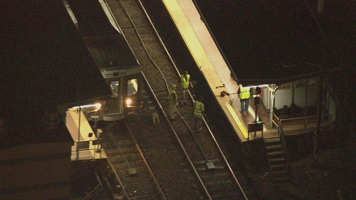 Choque de trenes deja más de 40 heridos en Filadelfia