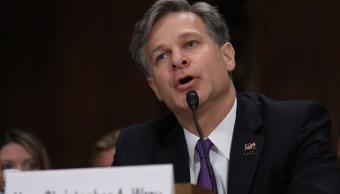 Senado confirma Christopher Wray director FBI