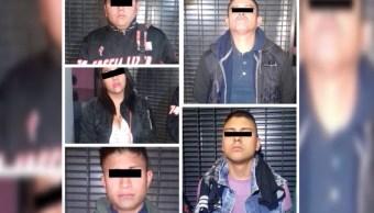 Detienen banda dedicada a robar celulares en Metrobús
