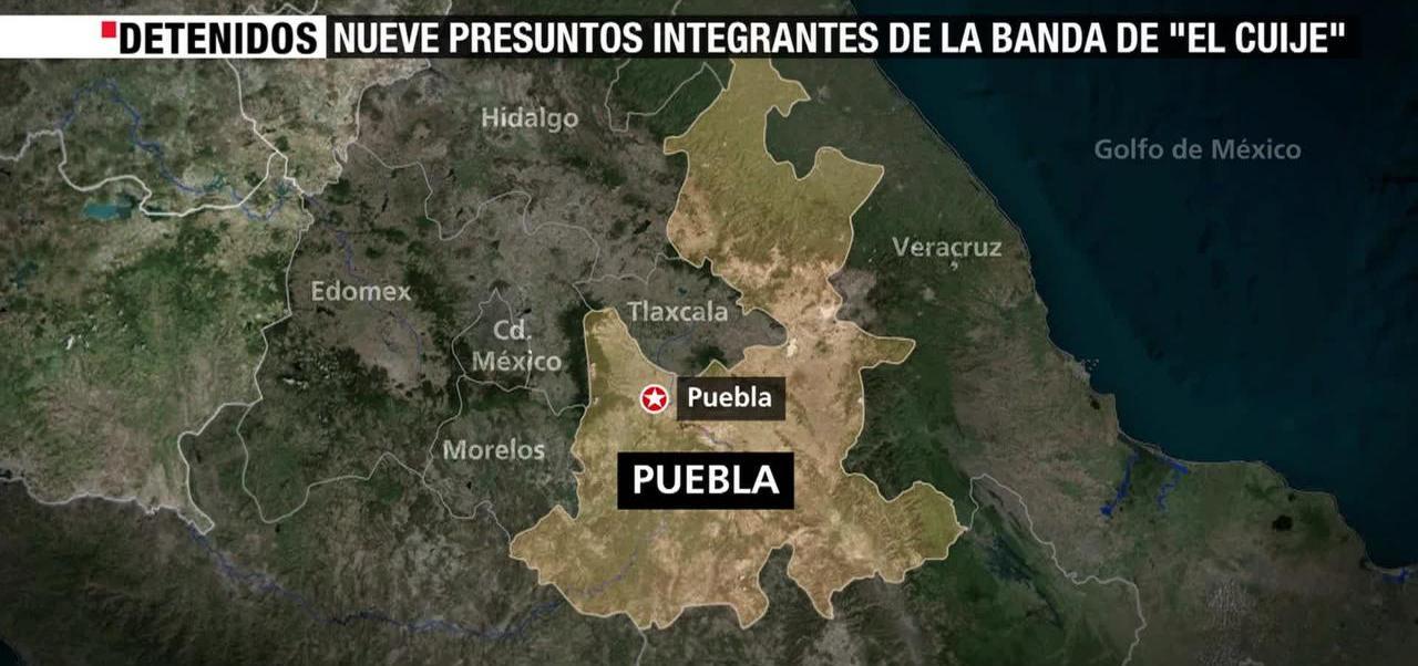 Detienen Integrantes Banda El Cuije
