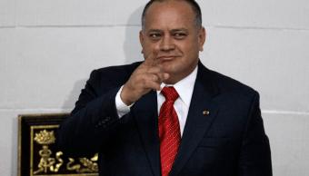 Diosdado Cabello es uno de los dirigentes más importantes del oficialismo