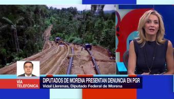 Diputados Morena Presentan Denuncia Pgr Vidal Llerenas