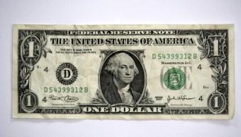 Dólar se recupera , cierra en 18.18 pesos