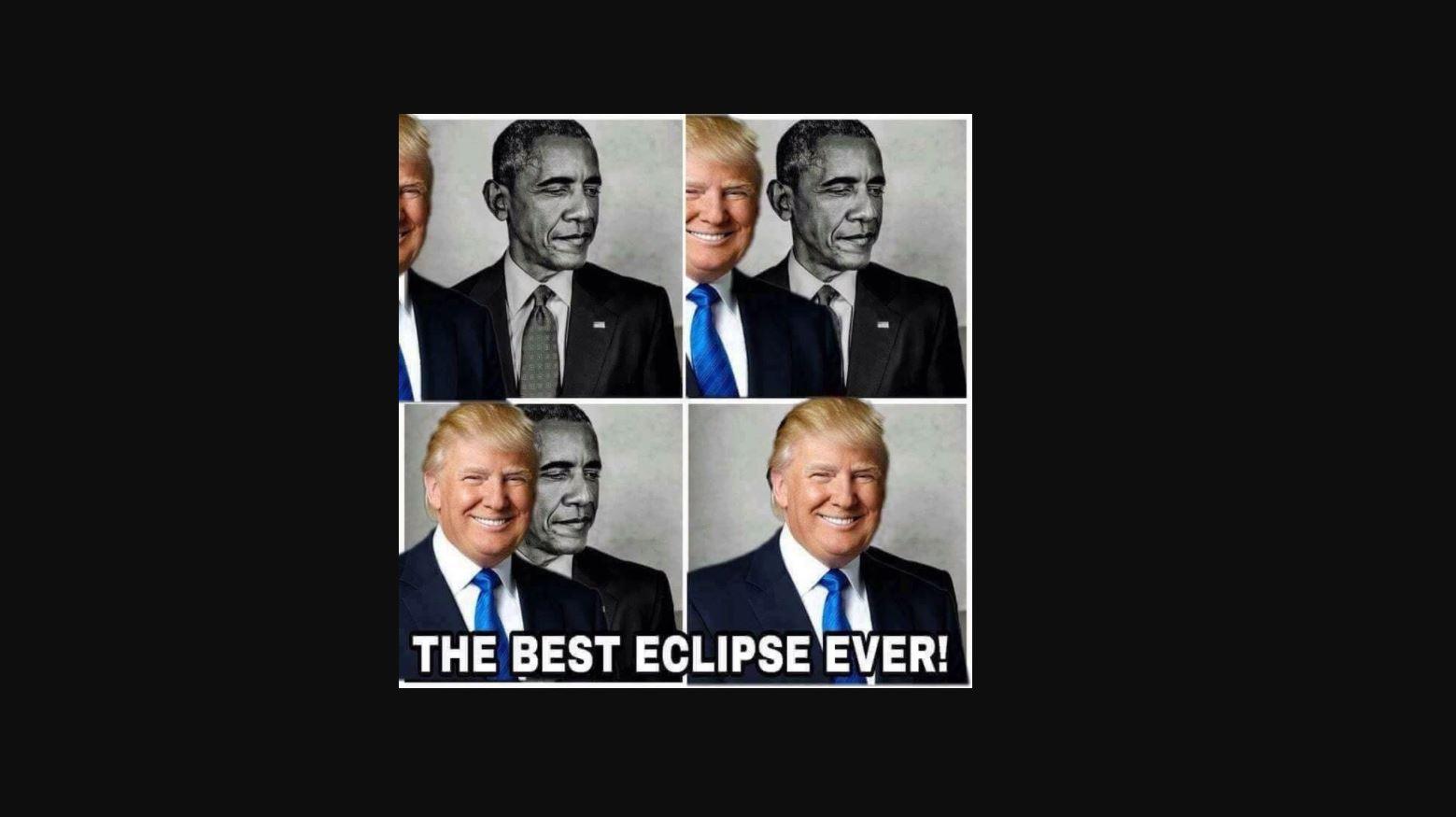 Trump comparte meme donde aparece