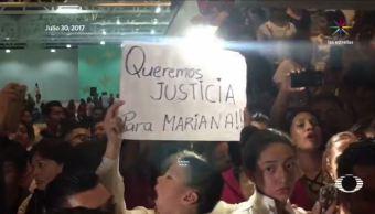 Habitantes protestan contra alcalde Ecatepec feminicidios