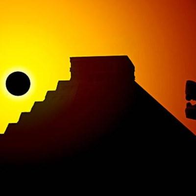 El eclipse para los mayas, conflicto entre la Luna y el Sol