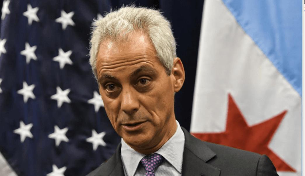 El alcalde de Chicago Rahm Emanuel