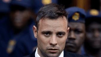 El atleta sudafricano Oscar Pistorius cumple una condena