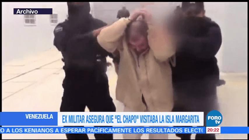 'El Chapo' Guzmán se reunía con la cúpula política de Maduro