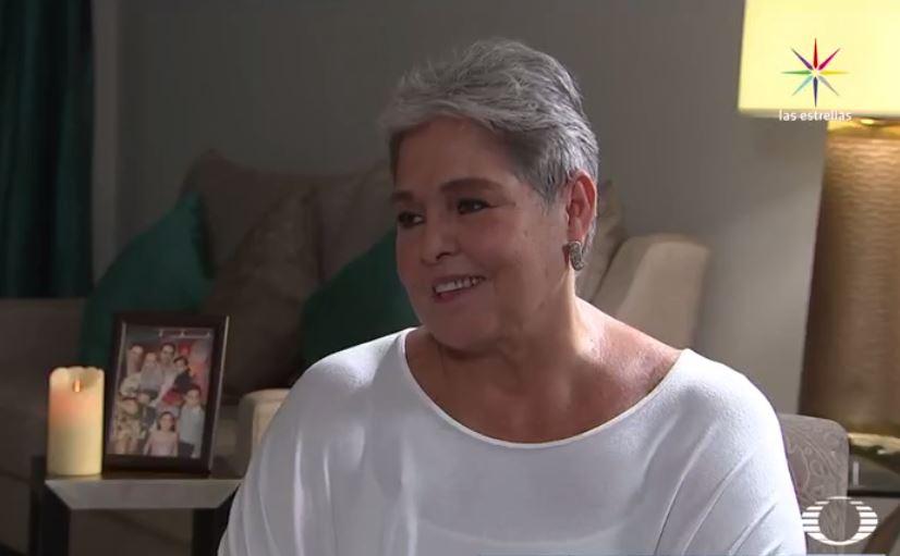 Yo soy pasión, dice Lupita D'Alessio en entrevista con Karla Iberia Sánchez