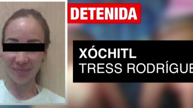 Juez da tres años de cárcel a Xóchitl Tress