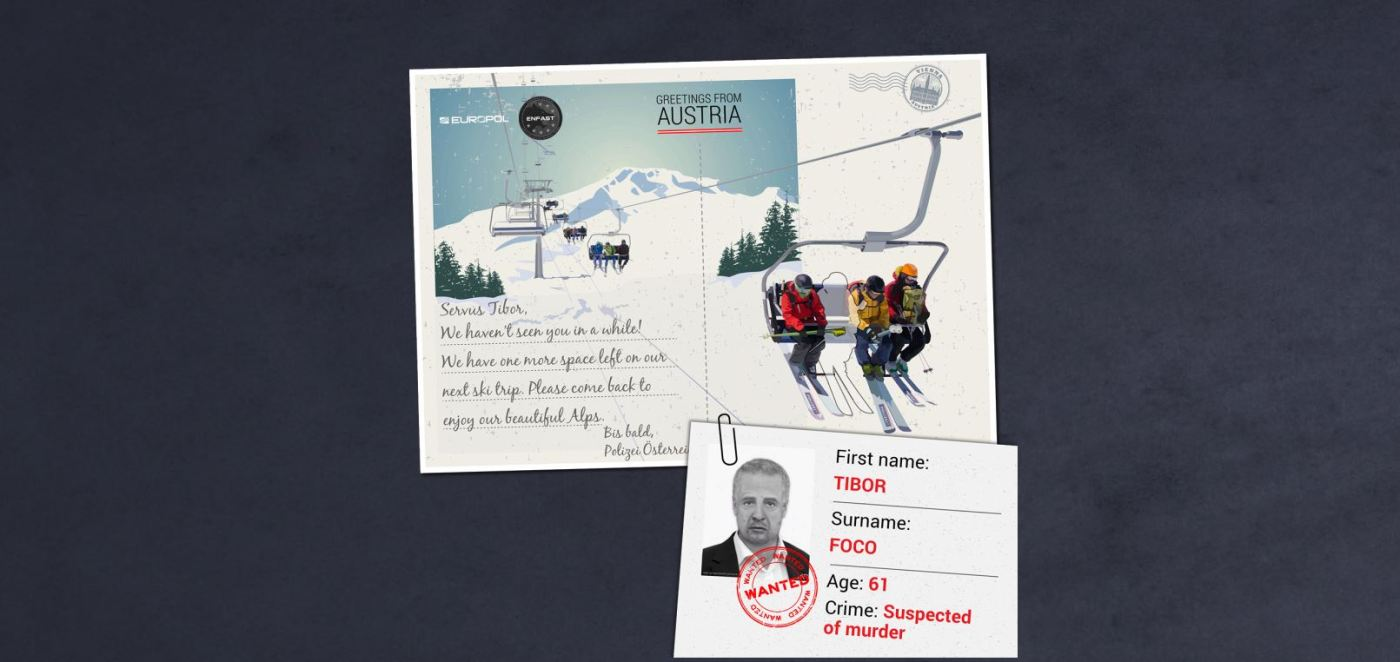 Europol usa humor en campaña para encontrar a criminales