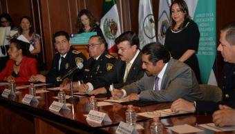 TSJCDMX y SSP-CDMX firman convenio para el cumplimiento de medidas cautelares
