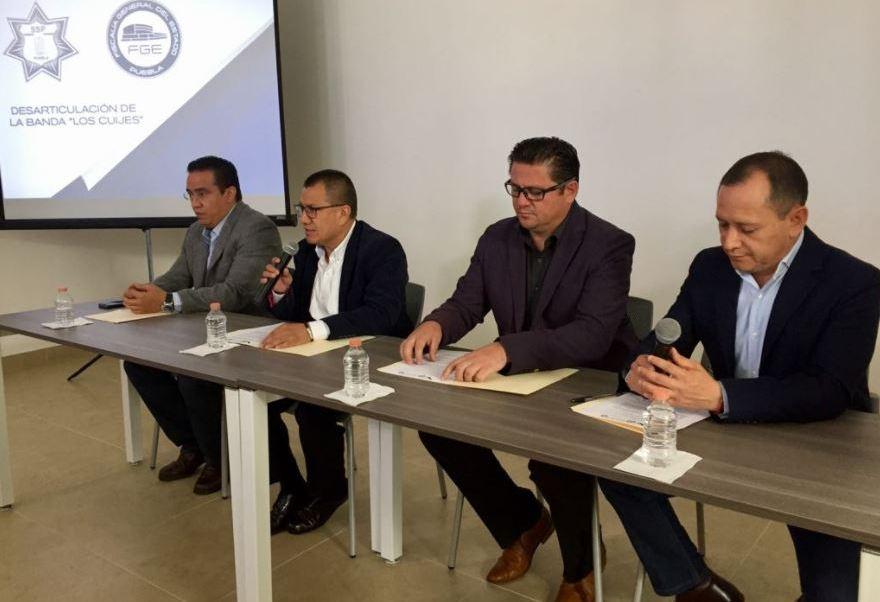 Autoridades de Puebla desarticulan a la banda de 'Los Cuijes'