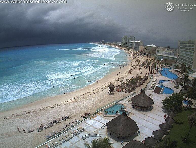 Suspenden clases en Quintana Roo por 'Franklin'