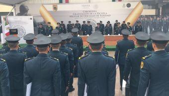 Se gradúan 39 cadetes de la Escuela Militar de Sanidad