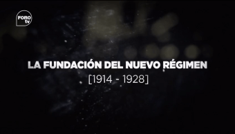 Grandes Transformaciones de México La fundación del nuevo régimen