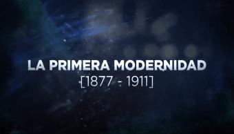 Grandes Transformaciones de México La Primera Modernidad