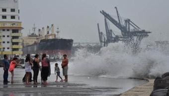 Alerta en Hidalgo por el huracán Franklin