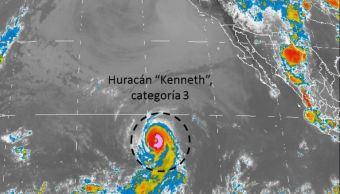 se forma huracan kenneth pacifico mexicano