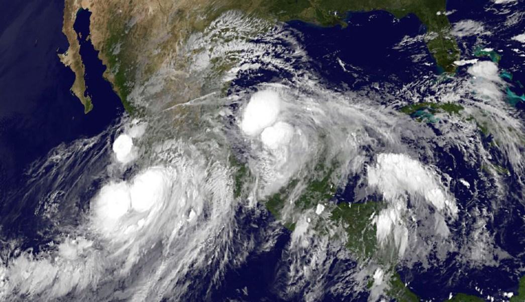 Imagen satelital de Manuel e Ingrid en 2013