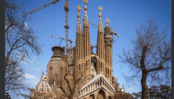 Iglesia de La Sagrada Familia, en Barcelona