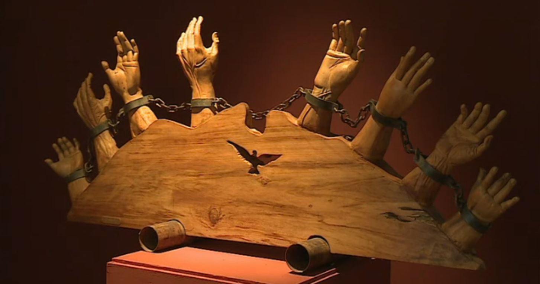 Inauguran obras de arte colonial en madera, en Nuevo León