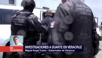 Investigaciones Duarte Veracruz Miguel Ángel Yunes