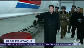 James Mattis Advierte Ataque Corea del Norte