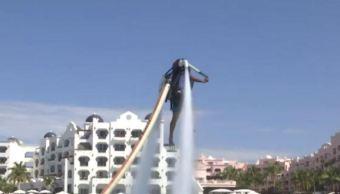 jet pack, nueva atraccion turistica en Los Cabos San Lucas