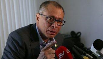Jorge Glas sigue siendo vicepresidente de Ecuador