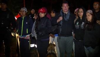 Autoridades de la CDMX rescatan a 10 jóvenes en el Ajusco