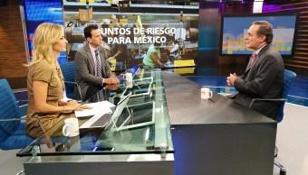 Juan Pablo Castañón en Despierta con Loret