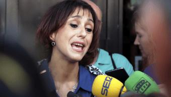 Juana Rivas huyo con sus hijos durante un mes