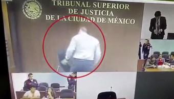 suspenden tres meses juez que dano silla tsjcdmx