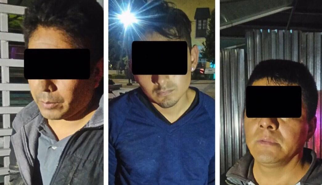 Capturan tres ladrones viviendas Lomas Chapultepec