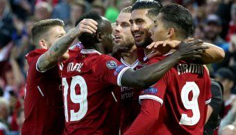 Liverpool golea aleman Hoffenheim y regresa Champions