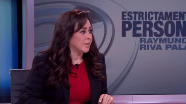 Lizeth Parra en la mesa de Estrictamente Personal