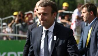 Macron llama a EU y Corea del Norte a evitar una escalada de tensión