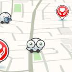 Mapa de Waze indica ubicación de refugios en Texas
