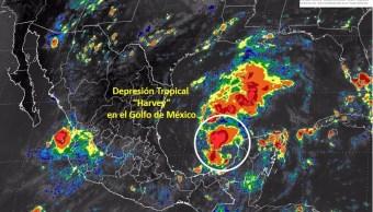 Alerta en Campeche por remanentes de Harvey