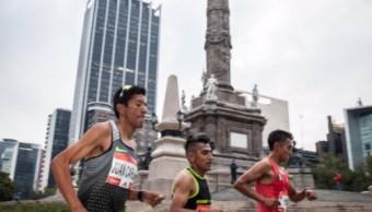 Vigilan tres mil 500 policías Maratón de la Ciudad de México