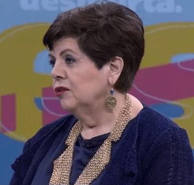 La analista política Maricarmen Cortés