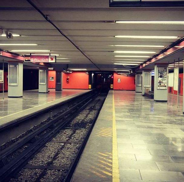 Estación del Metro Pantitlán, Línea 1