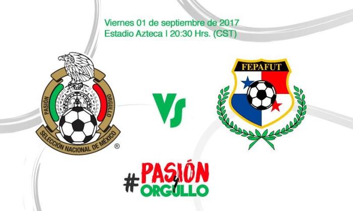 México vs Panamá 1 de septiembre 2017 Estadio Azteca