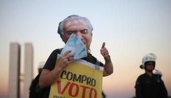 Votación contra Michel Temer por corrupción