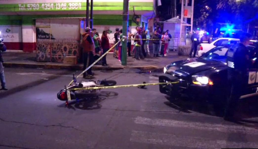 Muere motociclista atropellado en Congreso de la Unión, CDMX