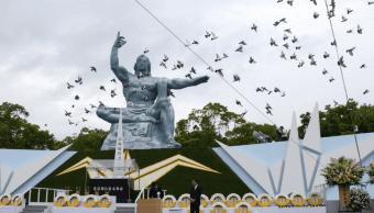 Nagasaki conmemora bombardeo atomico de Estados Unidos