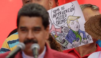 Maduro ordena ejercicios militares Venezuela amenaza Trump