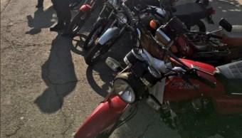 policias de la cdmx revisan motos